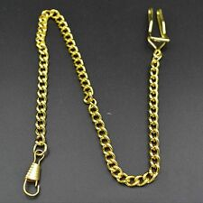 Bronze Nostalgia Accessories Personality Key Ring Pocket Watch Chain Necklace