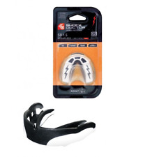 Shock Doctor v1.5 Mouth Guard Mouthguard Gum Shield Black White