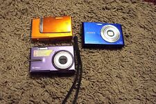 Lot of 3 digital Cameras~ Used for Parts~May or may not work~