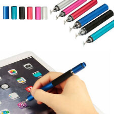 Thin  Phone Touch Screen Capacitive Pen Ballpoint Tip Stylus 2 In 1