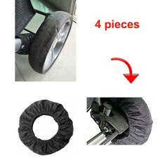 """4PCS"" Anti-Dirty Baby Stroller Wheel Covers Pram Buggy Wheel Protector Size S/L"
