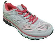 Reebok Womens Jet Dashride Running Shoe, Gray/Pink