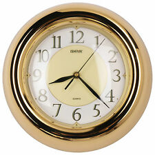 """11"""" New Designed Finest 3D Atomic Style Metal Wall Clock, Convex Glass Lens"""