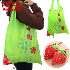 Eco Storage Handbag Strawberry Fold able Shopping Tote Bags Reusable Bag Selling