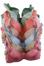 BERLEI BARELY THERE CONTOUR TSHIRT BRA WOMENS SILVER GREY BLUE ORANGE NUDE PINK
