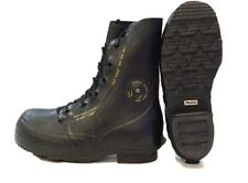 NEW US Military Mickey Mouse Boots Black Extreme Cold Weather with Valve
