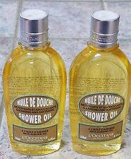 New! Lot of 2 L'Occitane AMANDE Shower Oil with Almond Oil 8.4 fl oz EACH!