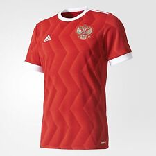 BNWT Adidas 2017 RUSSIA CONFED CUP Home Red Soccer Jersey Football Shirt BR6593