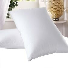 1 - White 600 Thread Count Goose Down Pillow - 700FP - STANDARD & KING SIZE