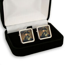 ADMIRAL LORD NELSON MEN'S CUFFLINKS + GIFT BOX ENGRAVING