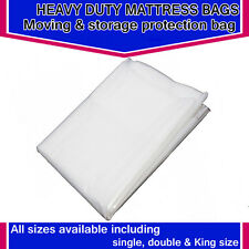 HEAVY DUTY REMOVAL MOVING MATTRESS POLYTHENE COVER BAG