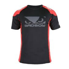 Bad Boy Performance Walkout 2.0 T-shirt Badboy Red Black MMA BJJ Training Fight