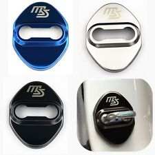 4X Door Lock Chrome Cases Stainless For MAZDA MS 2 3 6 RX8 MX5  CX3 CX5 CX7 CX9