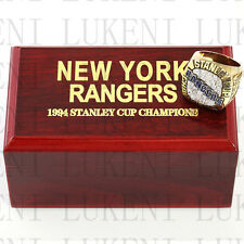 1994 NEW YORK RANGERS Stanley Cup Hockey Championship Solid Ring 10-13Size