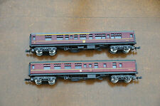 2 x Lima N Gauge 1st 15865 & M25290 Coaches.