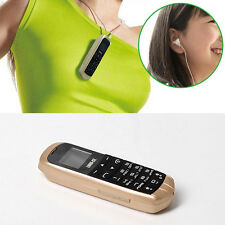 3 in 1 BEAT World Smallest Mini Mobile phone BLUETOOTH headset in-ear Unlock SIM