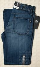 *NWT* ROCK & REPUBLIC Neil STRAIGHT Denim Jeans Men's Faded Blue Cotton Sz 29 42