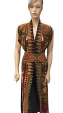 Palestinian Dress Abaya Embroidered Traditional Arabic Dress Vest