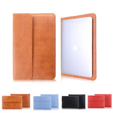 PU Leather Protective bag Case Cover for Apple Macbook Air Pro MAC Surface Book