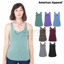 American Apparel Women's triblend racerback tank (TR308) Sexy ladies vest top