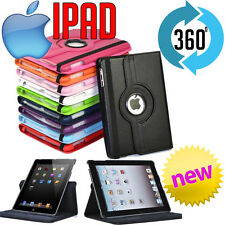 iPad Air 2 iPad Mini 4 360 Rotating Case Cover Stand Tough Leather or Clear