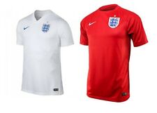 Nike Dri Fit England National Soccer Team Jersey Your Choice White/Red S-XL