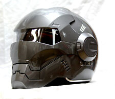 Brand New Masei Gray IronMan 610 Motorcycle Helmet - All sizes available