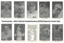 1921 Oxford Confectionery E253 Reprints Baseball Set ** Pick Your Team **