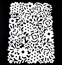 5 Floral Rectangular Frame Die Cuts, Flowers, Roses. Sizzix. Any Colour/Card!