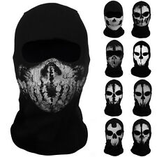 Skeleton Ghost Skull Face Mask Biker Balaclava Call of Duty COD Costume Game US