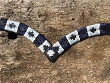 V Shaped Browband Embroidered Browband  Western Browband X-Full Full Cob Pony