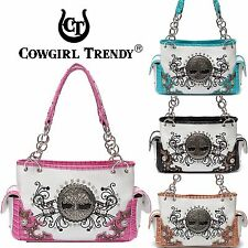 Cowgirl Trendy Western Tree of Life Spring Country Purse Handbag Shoulder Bag