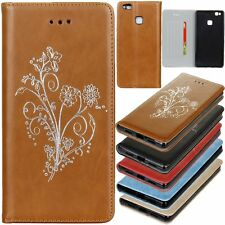 Flip Leather Wallet Cards Pocket Stand Case Cover For Huawei Ascend P9 / P9 Lite