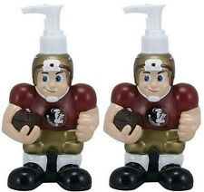 2 Pack Florida State FSU Seminoles NCAA Licensed Soap Dispensers