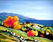 Handpainted Landscape Oil Painting On Canvas Modern Art for home decor  ZF102