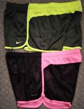 """nike Dri Fit 3.5"""" MESH FIELD Training Shorts Size XL GREEN or PINK Your Choice"""