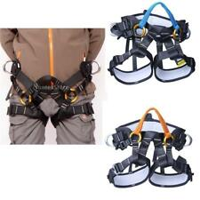 Outdoor Rock Climbing Safety Half Body Seat Harness Mountaineering Rappel Equip