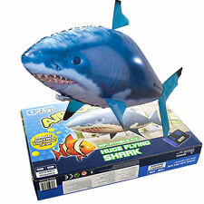 Hot Air Swimmers RC Remote Control Flying Shark Balloon Toy For Kids aShop 2017