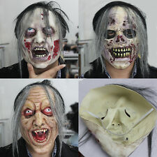 Scary Witch Latex Zombie Mask Monsters Mask Halloween Personalized Costume Props