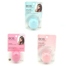 eos evolution of ORGANIC SMOOTH SPHERES & VISIBLY SOFT SMOOTH SPHERES Lip Balm