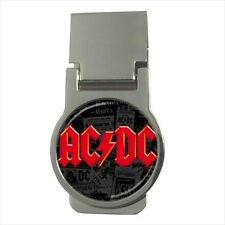 ACDC Rock and Roll Money Clip (Standard and CZ Stones)