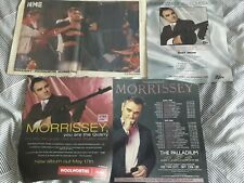 MORRISSEY - THE WORLD OF - original magazine advert small poster -  the smiths