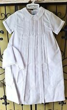 Girls FELTMAN BROTHERS Christening gown bonnet NWT 0-3 6-9 9-12 white wedding