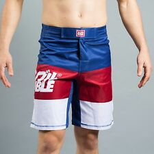 Scramble RWB Shorts No Gi Grappling BJJ Grappling MMA Fight Shorts Jiu Jitsu