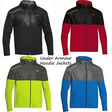 UNDER ARMOUR NEW MENS EMBOSSED LIGHT FULL ZIP JACKET HOODIE ALL SEASON GEAR NWT