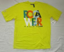 NWT Mens ROCAWEAR Off-Shore Hustle Yellow Logo T-shirt  - size XL or 2XL