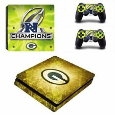 NFC GREENBAY PACKERS VINYL DECAL PS4 SLIM SKIN STICKERS WRAP FOR SONY PLAYSTATIO