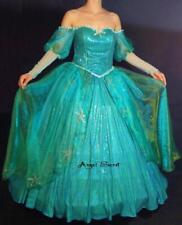 BP158 with sea star rhinestone Ariel gown dress Little mermaid