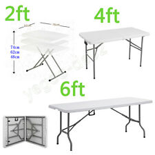 Panana Heavy Duty Folding Trestle Table Picnic/Camping/BBQ Banquet/Party/Market