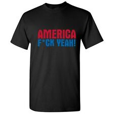 AMERICA EFF YEAH- Offensive Humor Gift Unisex cool Funny Novelty T-Shirts